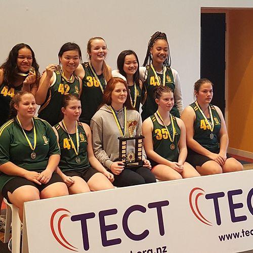 Girls' Senior Team Champions Div 2 Basketball League