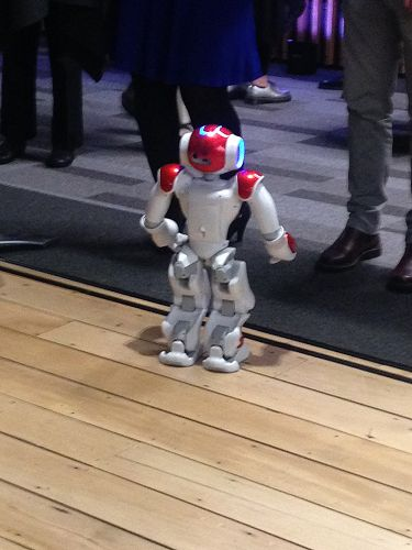 The NAO robots made quite a splash at the NZ SciFe