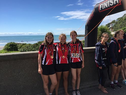 Canterbury Triathlon Girls Team