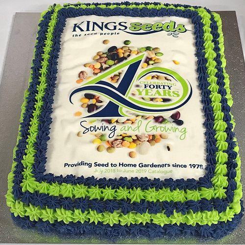 Fantastic 40th Birthday Cake