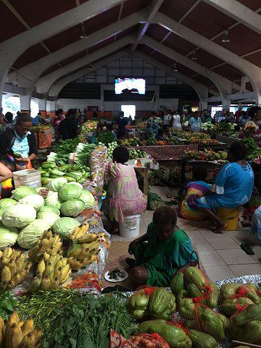 Port Villa Market