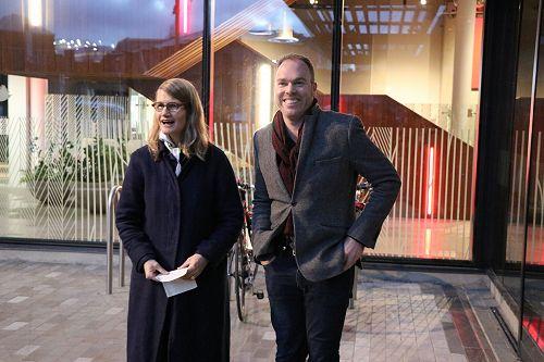 Brenda Nightingale and Jamie Hanton
