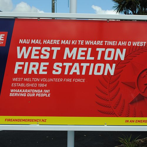 West Melton Fire Station