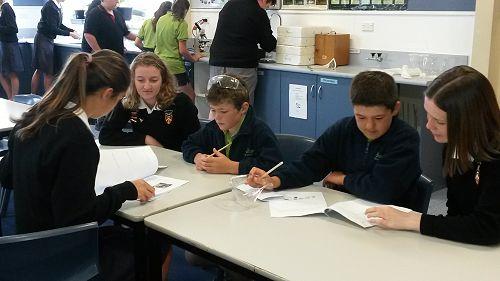 GPS students visit GHS