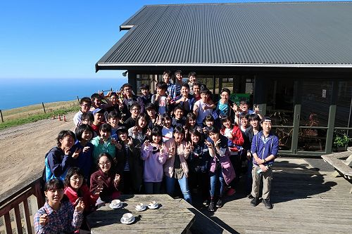Ichikawa 2017 at the Albatross Colony