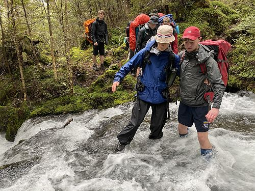 Duke of Edinburgh - Lake Monowai expedition