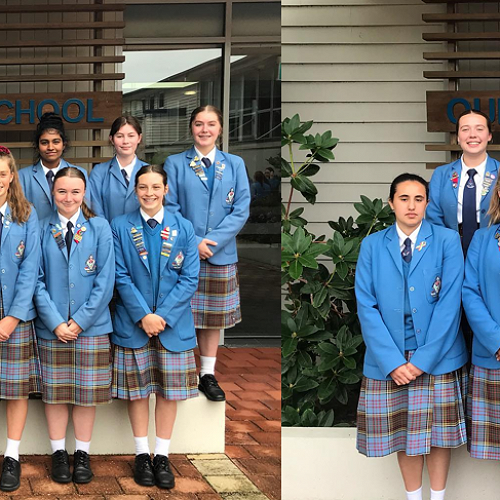Level 1 and 2 Blues Awards recipients 2019.
