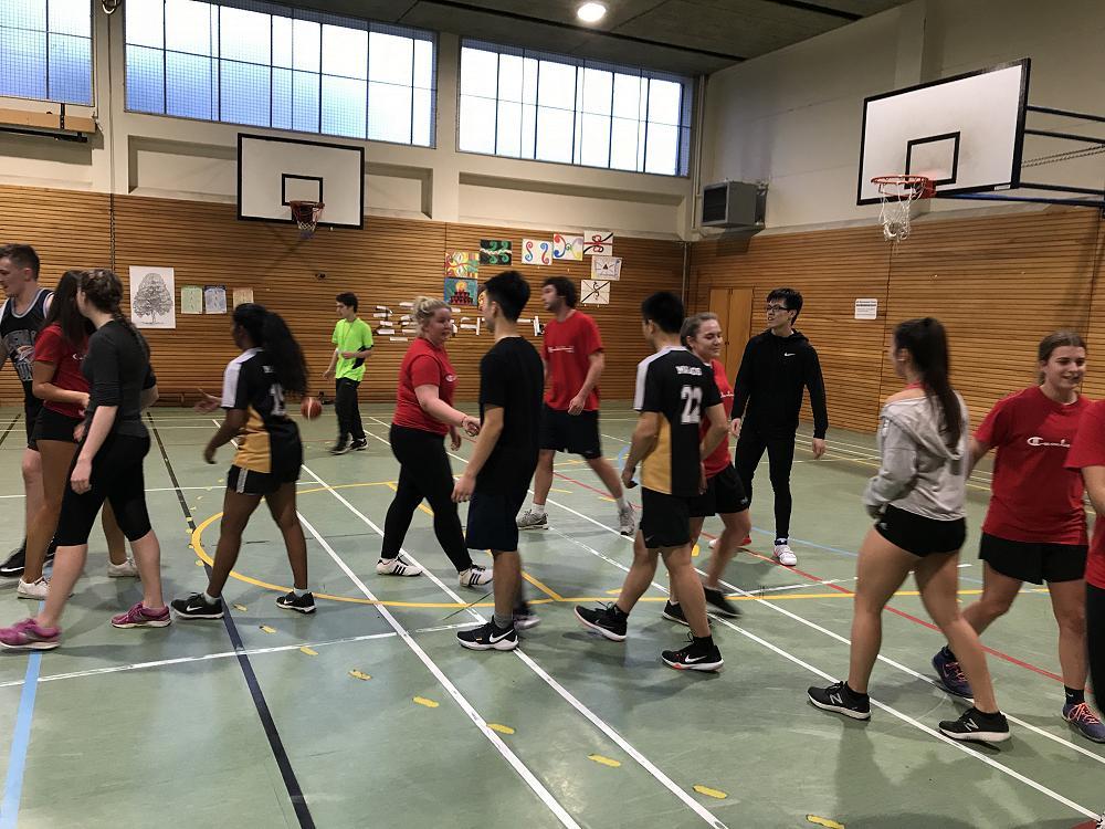 Mixed basketball, 22 July 2018