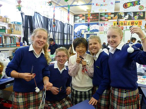Japanese Students enjoying school life at Cobham and activities around Christchurch