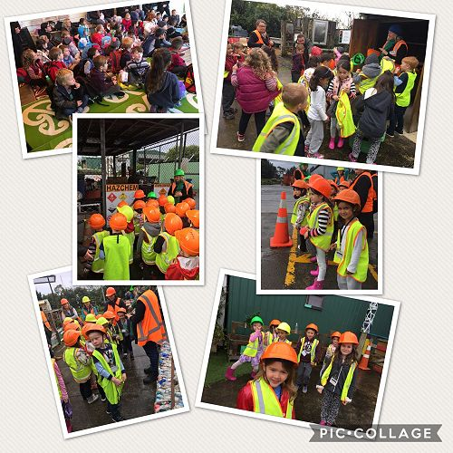 Y1 trip to the Refuse Centre