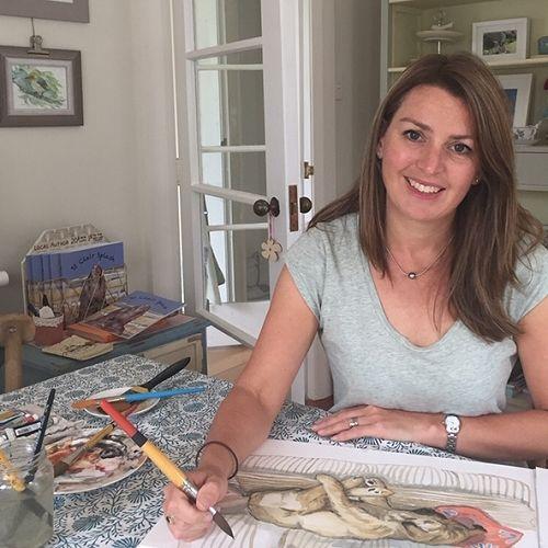 Author-Illustrator Rachel McCoubrey