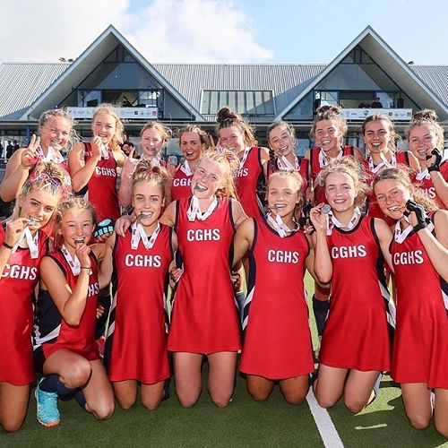 CGHS 1st XI Hockey Team, Second In The Federation Cup