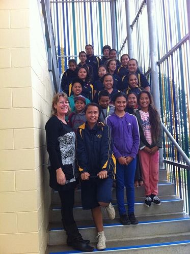 Mangere Central VLN Primary Students