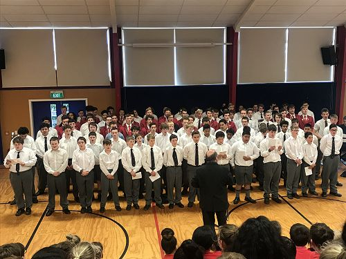 WBHS Big Choir