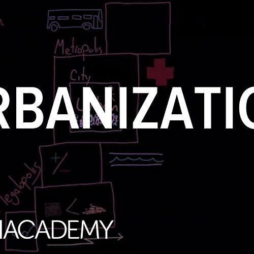Video: Urbanization | Society and Culture | MCAT | Khan Academy