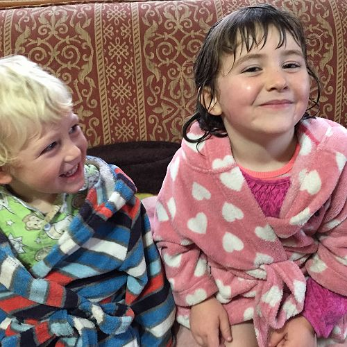 Ollie and Leva