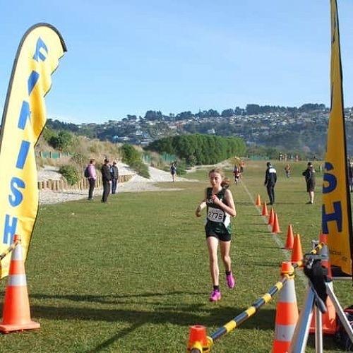 Melanie Button determined to finish strong!