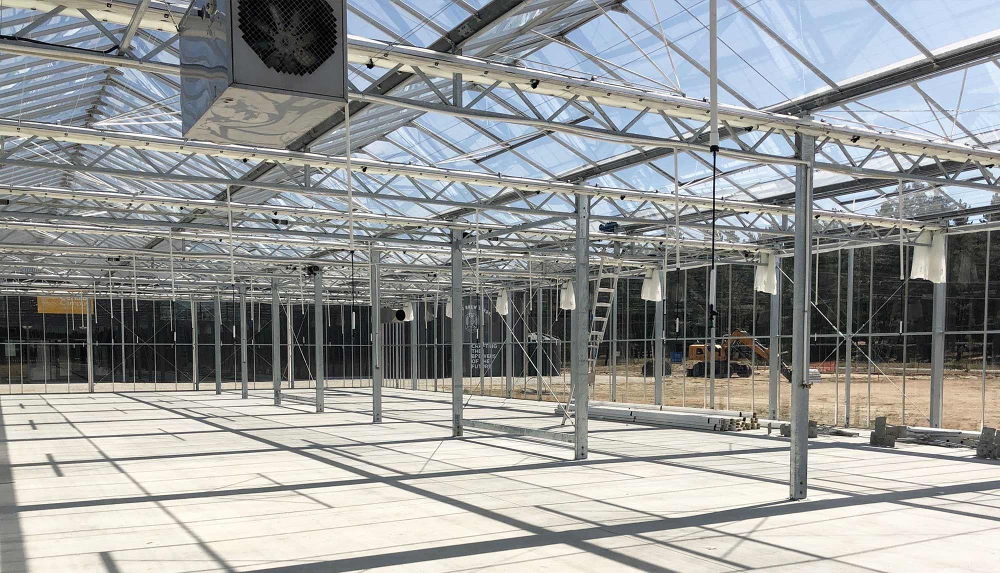 Otago Polytechnic's Fully Automated Glasshouse