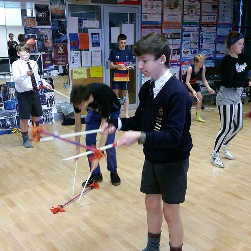 Circus Challenge - Australian Circus Company visit