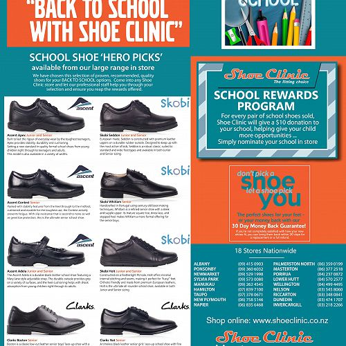 Back to School with Shoe Clinic