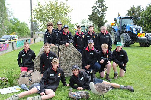 PIA students visit Winchester Rural School