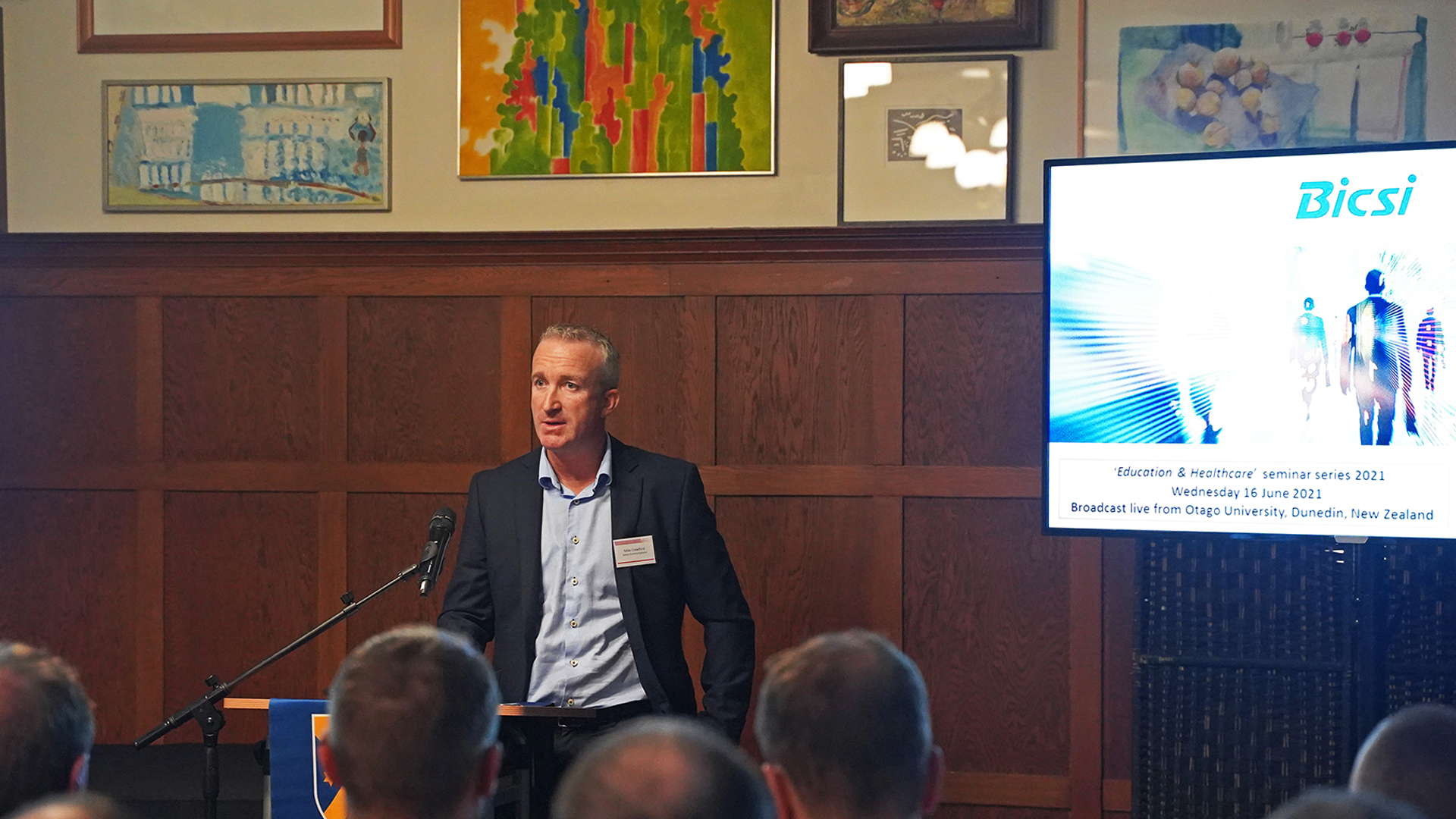 The 2021 BICSI Seminar Series Proudly Supported By Aotea Communications