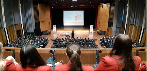 Year 12 students attend Emerging Leaders Conferenc