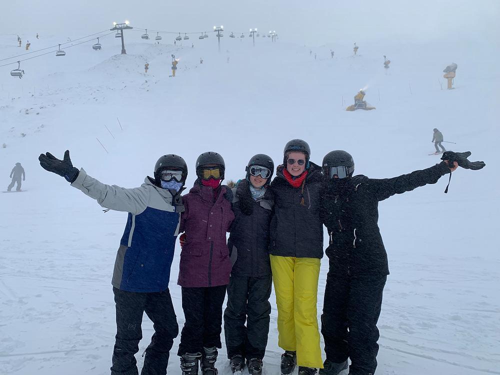 Ski trip, 2 - 4 August 2019