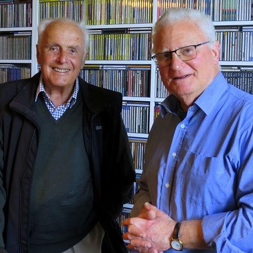 Farquhar Wilkinson (left) and Julian Faigan.