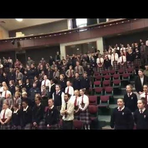 Video: Kavanagh Juniors singing Purea Nei