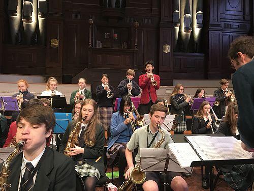 Music Festival 2017 Jazz Band, Serenity Hook, Finl