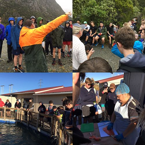 Year 12 geography Field trip to Mt Cook.