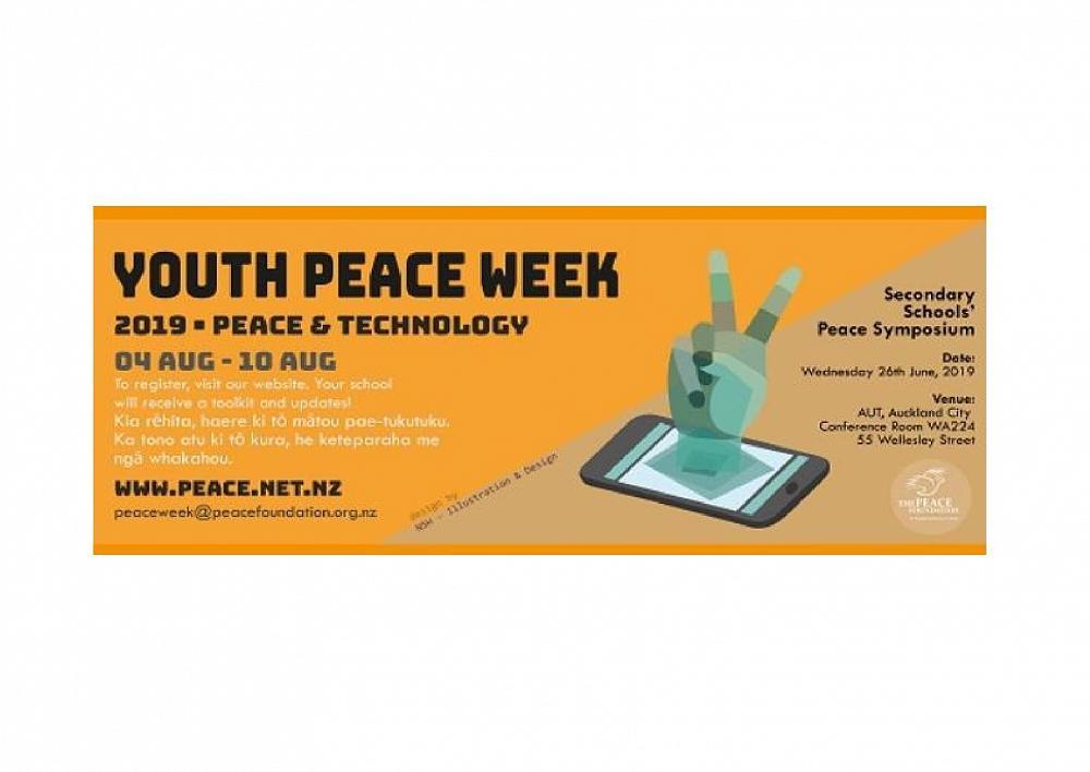 International Youth Peace Week 2019 - Newsletter: Term 3, Week 2