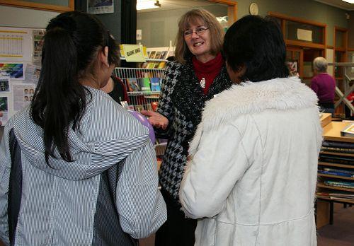 Open Day - Principal Jane Johnson