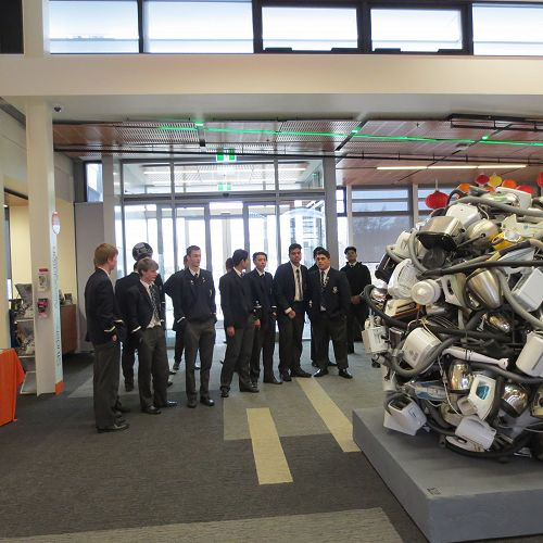 Otago Polytechnic School of Building, Surveying and Engineering Visit