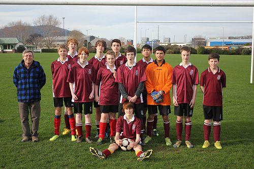 Junior Boys City Football Team 2013