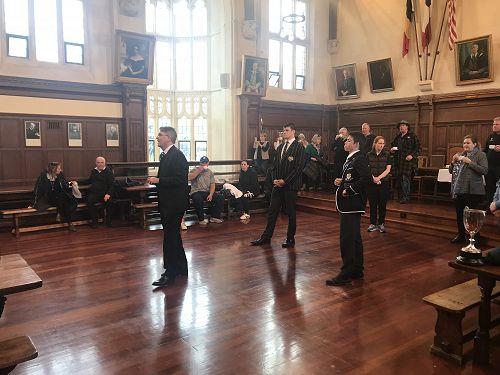 OBHS v Christ's College - after match function