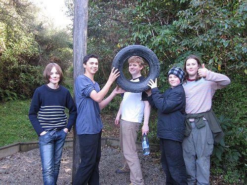 Fun at Tautuku Camp