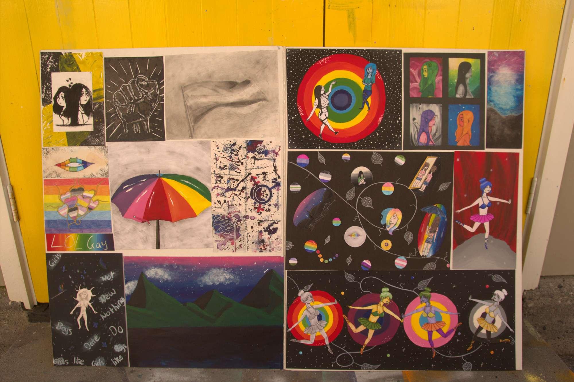 Hannah Davidson - NCEA Level 1 Art portfolio