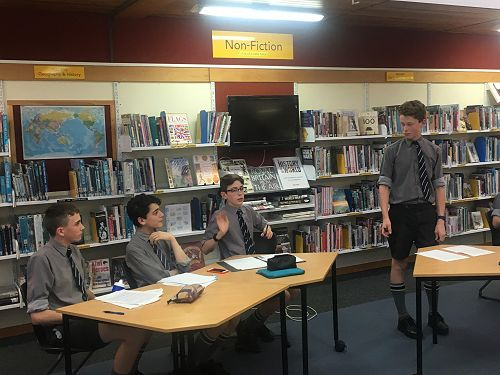 Grand Final of Junior Debate Competition
