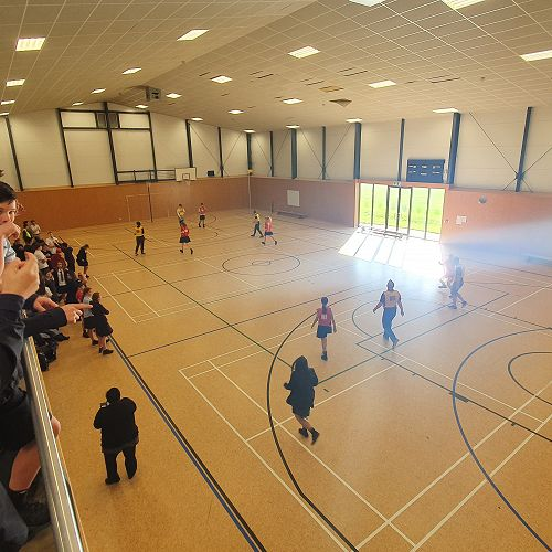 Staff-student sport every Friday in the New Gym
