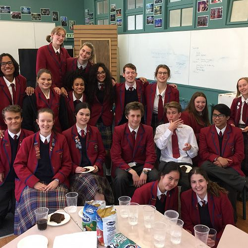 Brazilian Drama Students Farewelled