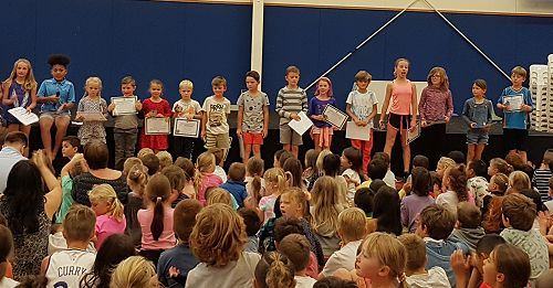 Our Winners at Assembly