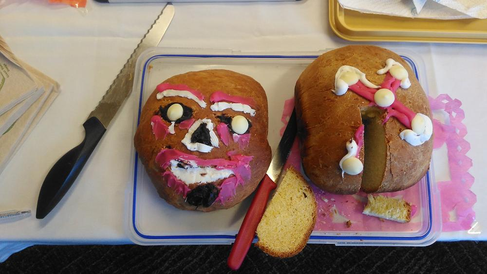 Year 10 Spanish: scary but yummy.