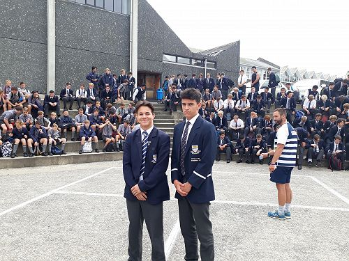 Saxton House Leader and Deputy House Leader
