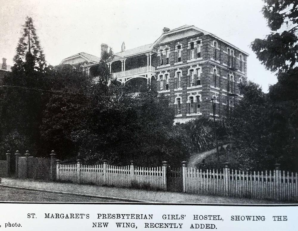 Main Building, St Margaret's College, 1917