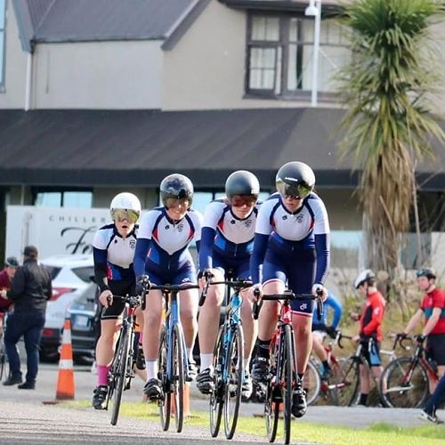 CGHS Cycling Team Competing for the Litolff Cup