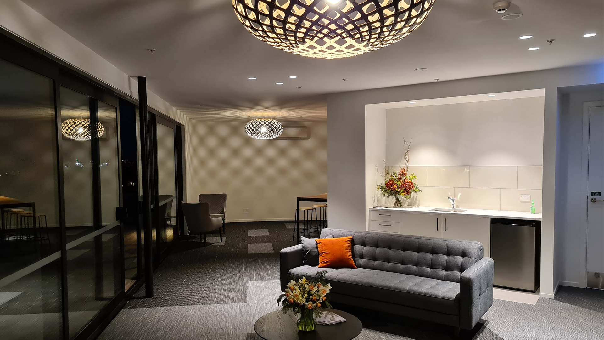 Aotea Electric Auckland, lighting up the new Modal Apartments in Mt Albert, Auckland