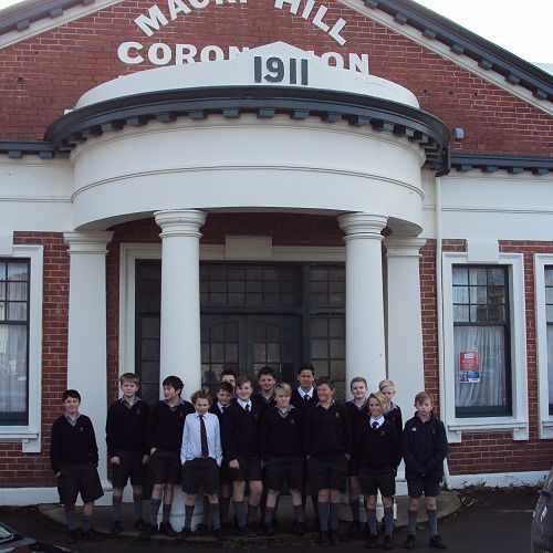 Walking Tour Stop 1 - Coronation Hall