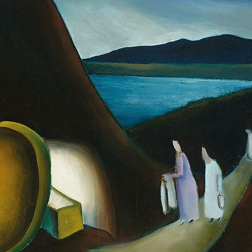 """Easter Morning"" - Colin McCahon"